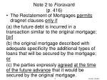 note 2 to fioravanti p 416