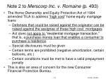 note 2 to merscorp inc v romaine p 493