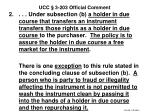 ucc 3 203 official comment