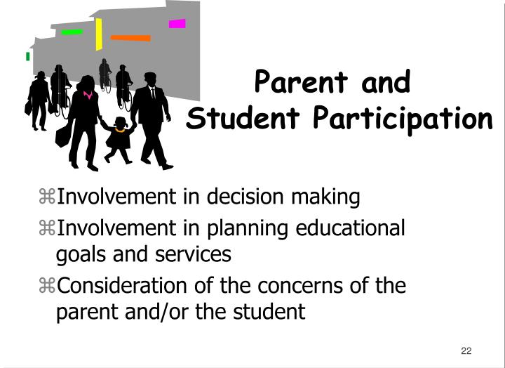 Involvement in decision making