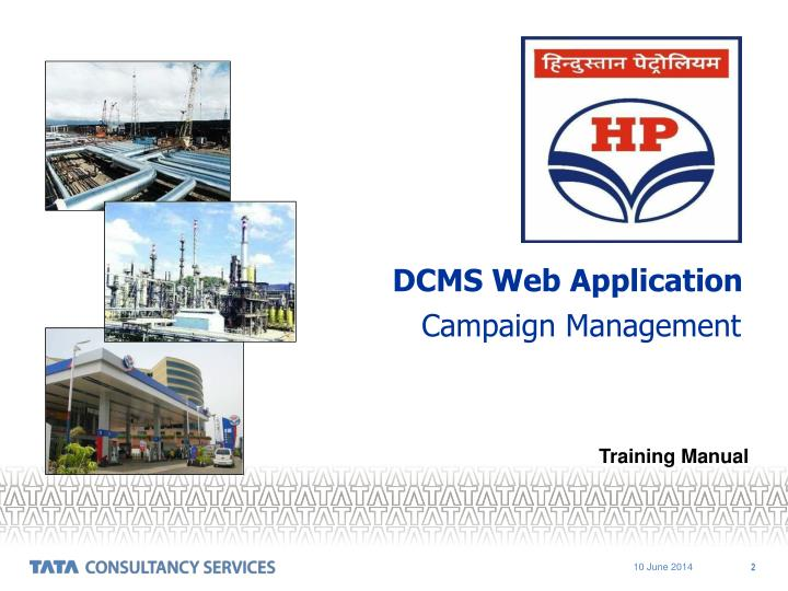 DCMS Web Application