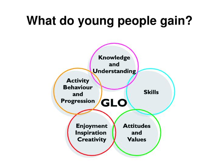 What do young people gain?