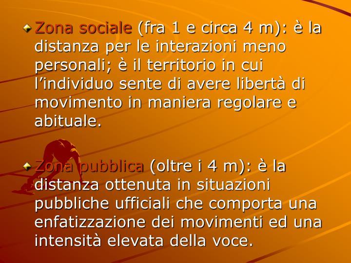 Zona sociale