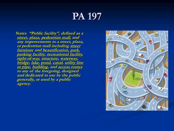 PA 197