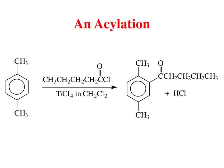 An Acylation