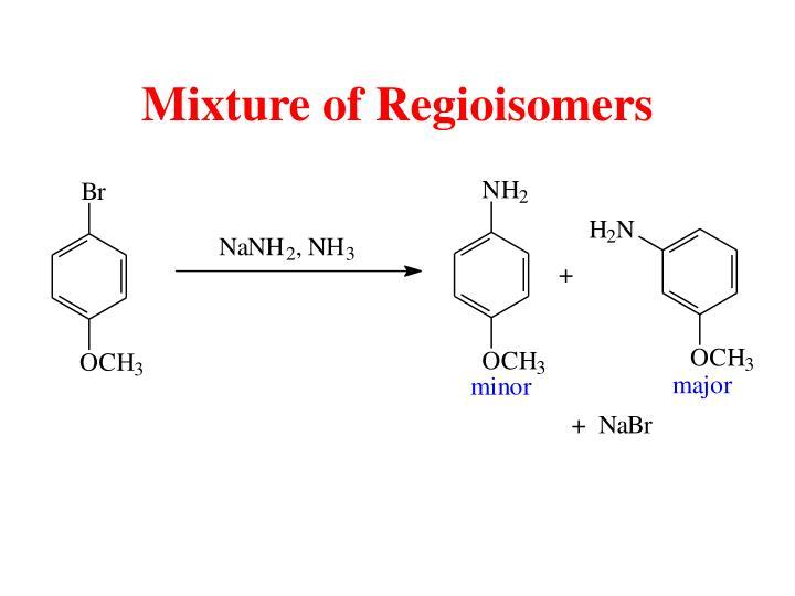 Mixture of Regioisomers