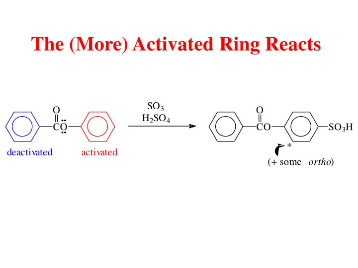 The (More) Activated Ring Reacts