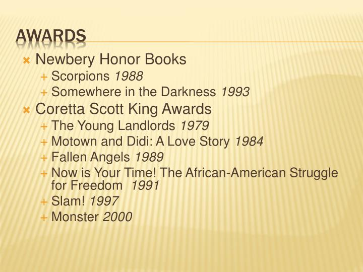 Newbery Honor Books