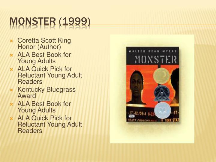 Coretta Scott King Honor (Author)
