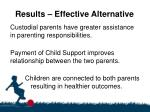 results effective alternative2