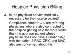 hospice physician billing2