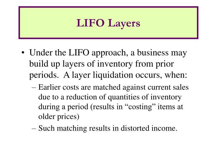 LIFO Layers