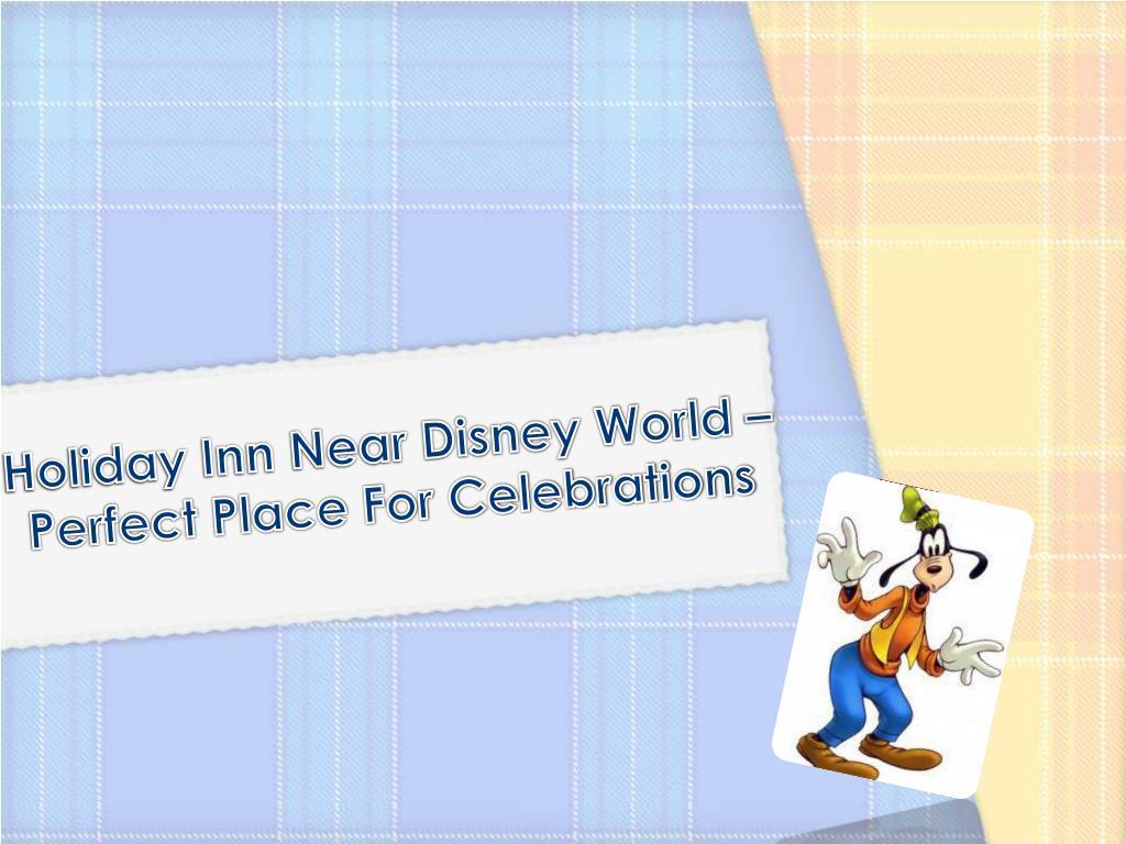 Holiday Inn Near Disney World –