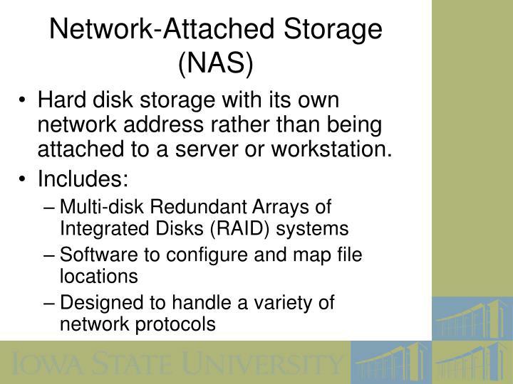 Network-Attached Storage (NAS)