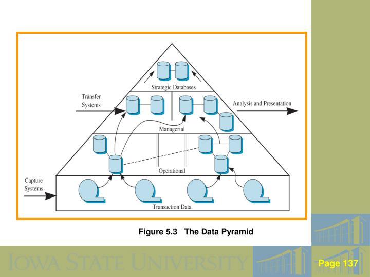 Figure 5.3   The Data Pyramid