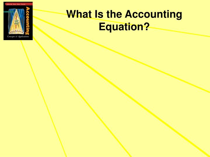 What Is the Accounting Equation?