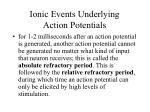 ionic events underlying action potentials4