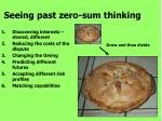seeing past zero sum thinking