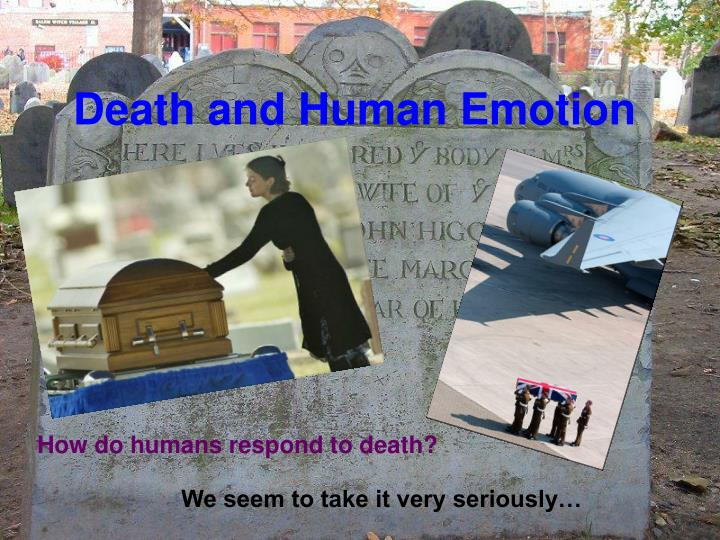 Death and Human Emotion