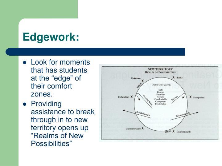 Edgework: