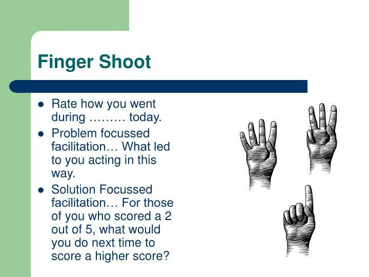 Finger Shoot