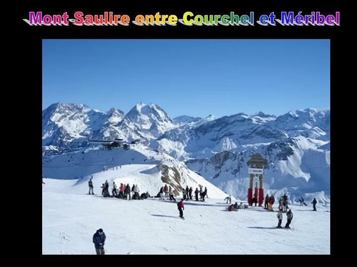 Mont Saulire entre Courchel et Méribel