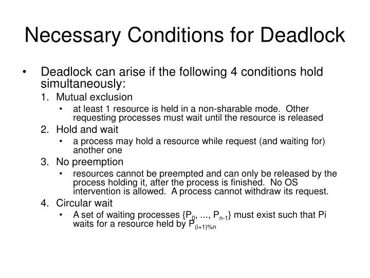 PPT - Deadlock Prevent...