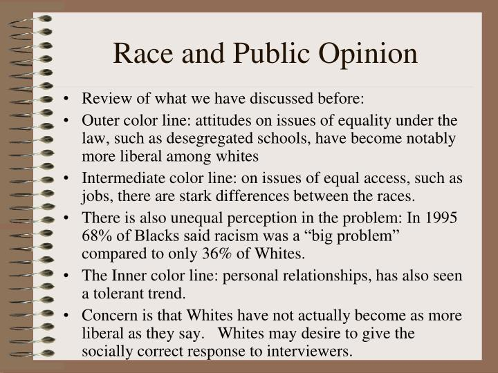 Race and Public Opinion