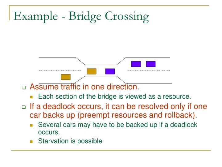 Example - Bridge Crossing