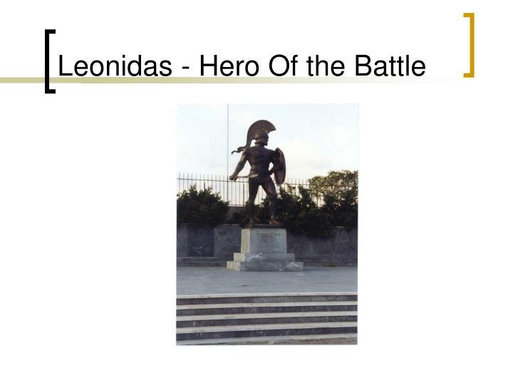 Leonidas - Hero Of the Battle