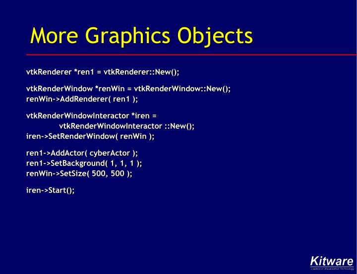 More Graphics Objects