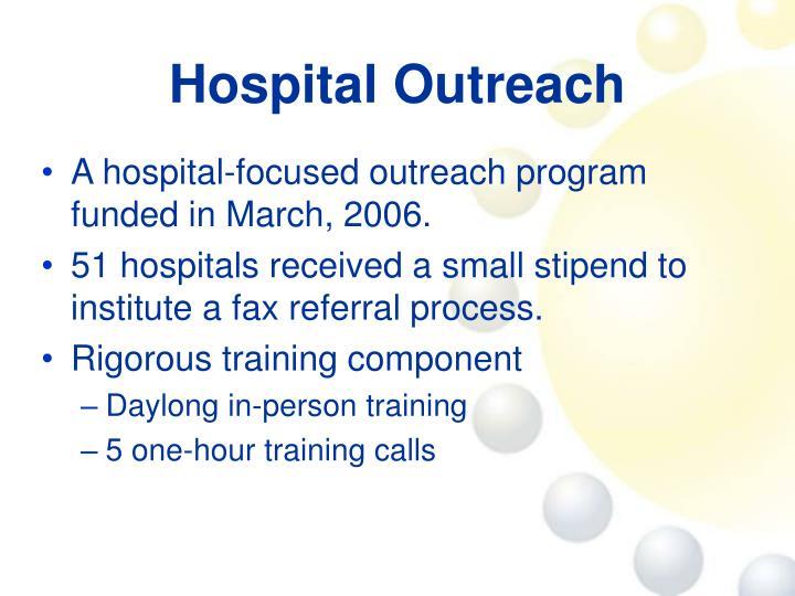 Hospital Outreach