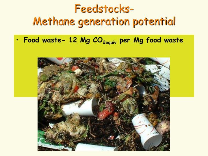 Feedstocks-