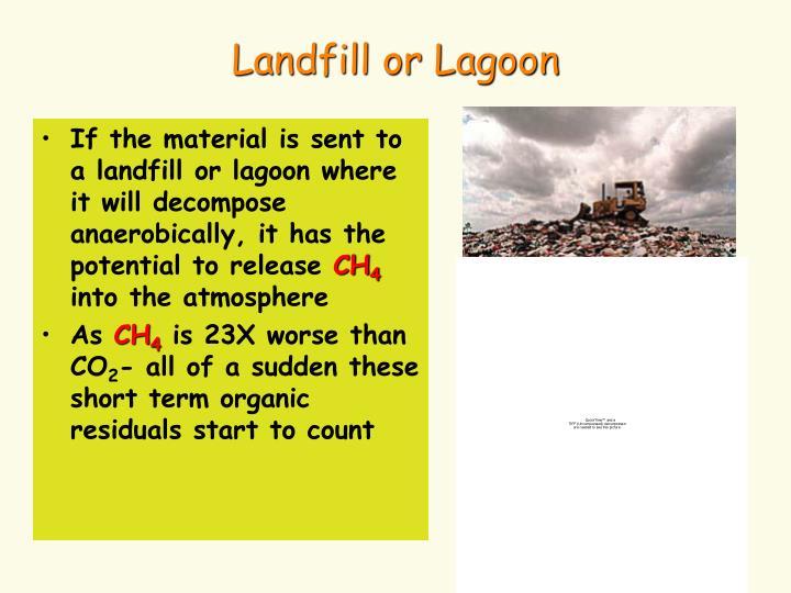 Landfill or Lagoon