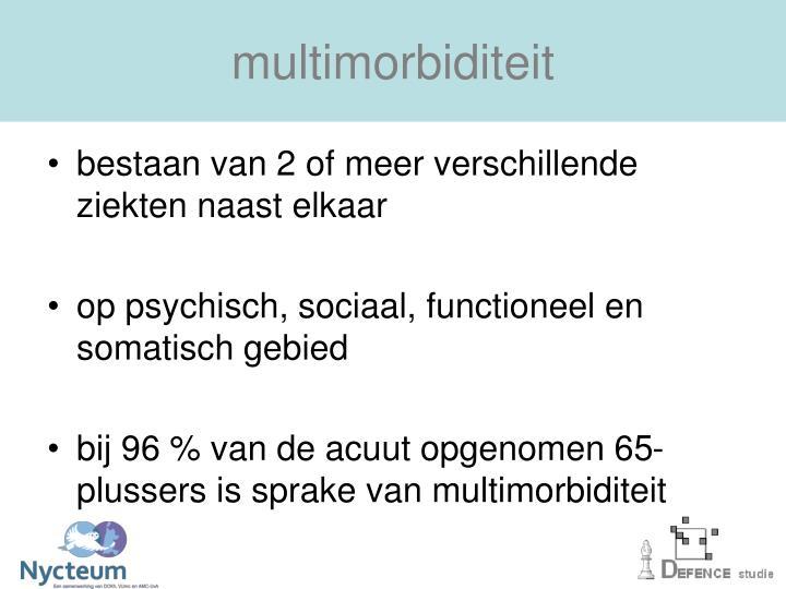 multimorbiditeit
