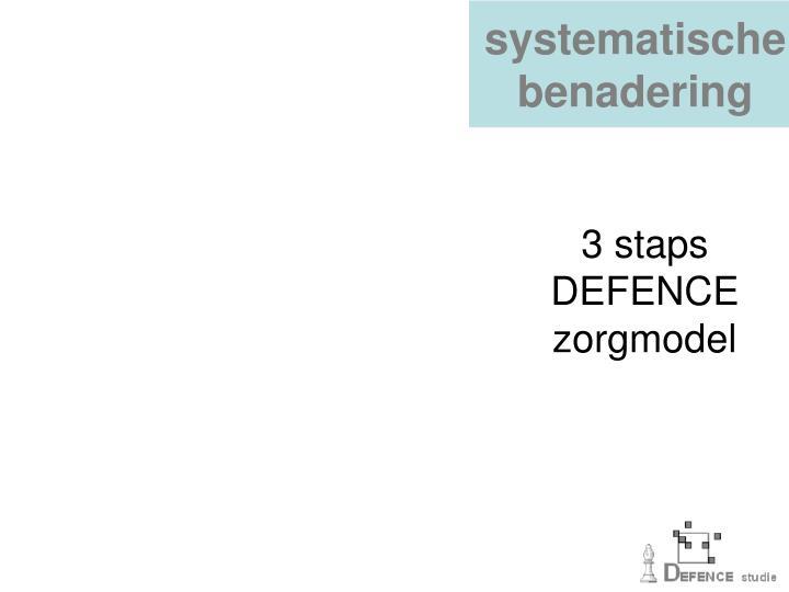 systematische benadering
