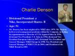 charlie denson