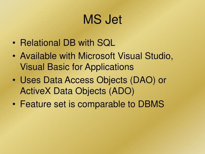 MS Jet