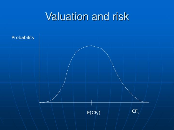 Valuation and risk