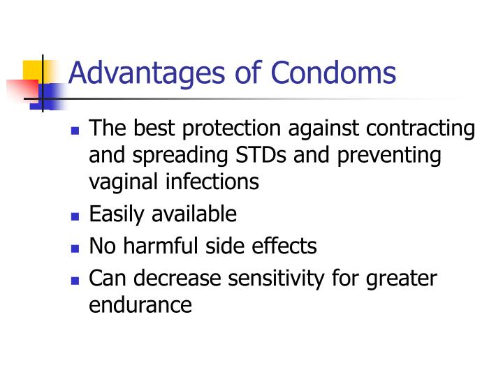 Advantages of Condoms