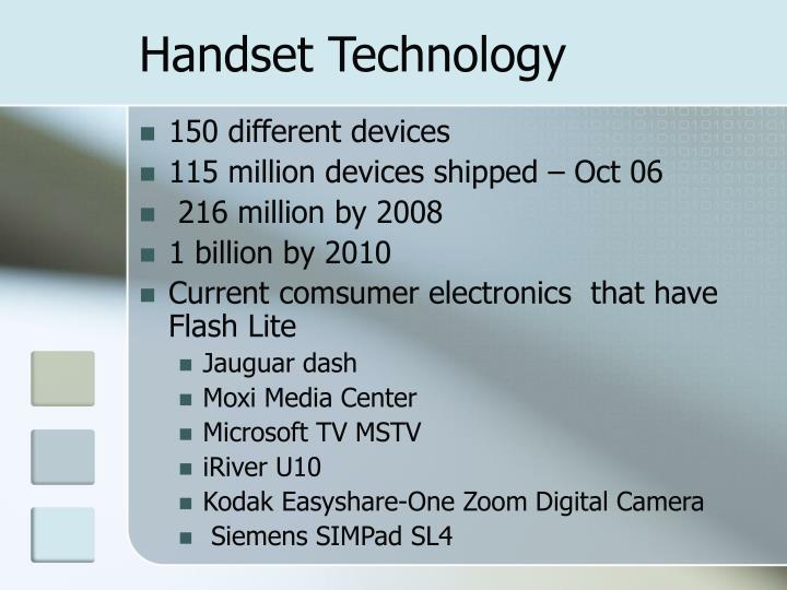 Handset Technology