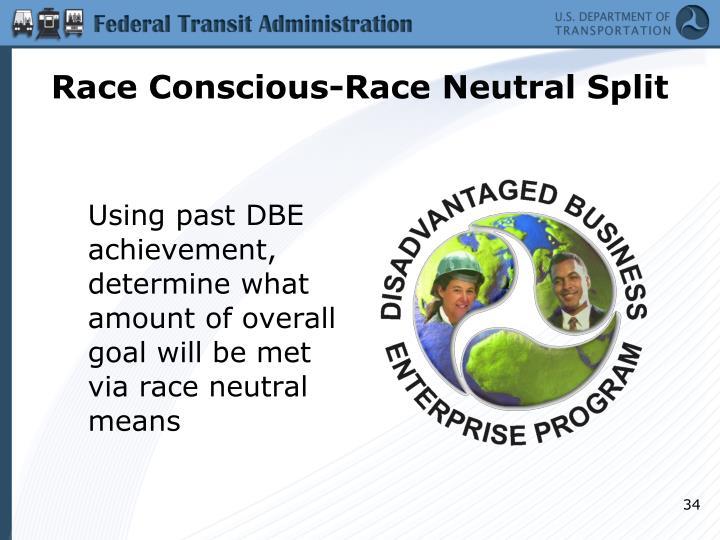 Race Conscious-Race Neutral Split
