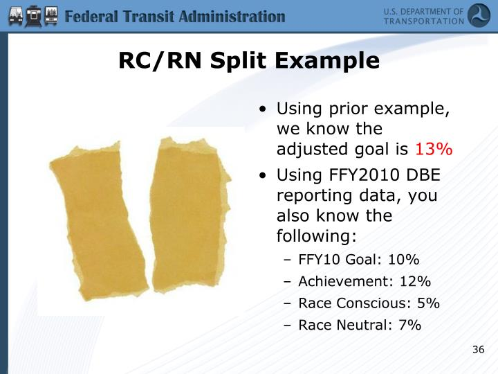 RC/RN Split Example