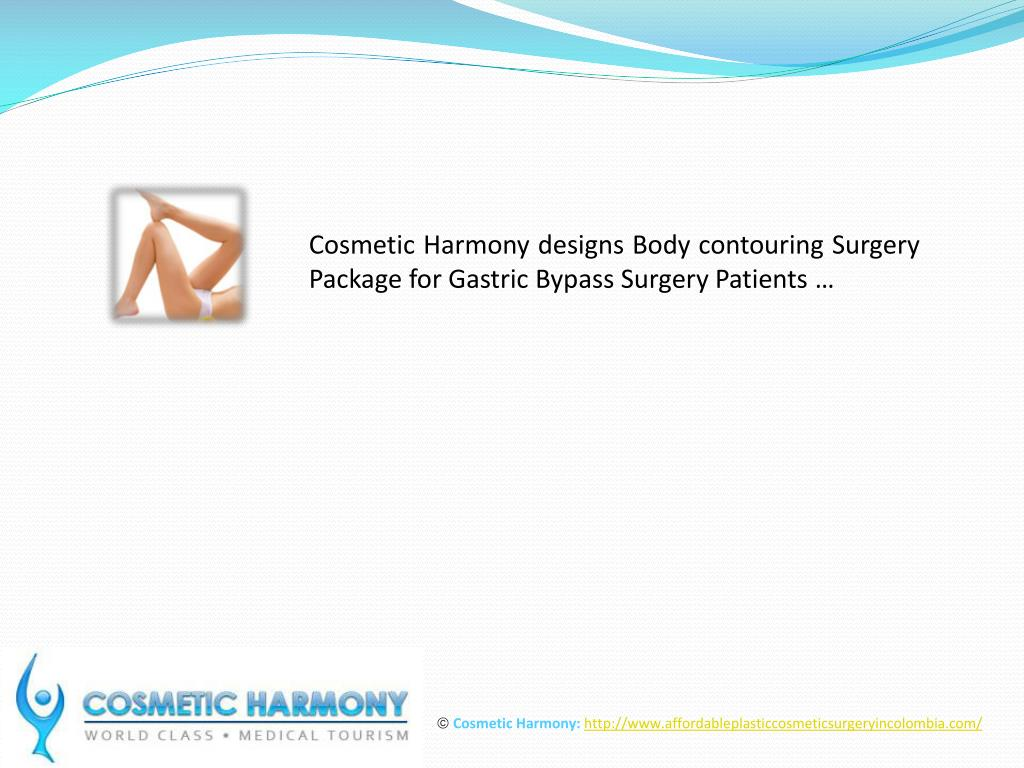 Cosmetic Harmony designs Body contouring Surgery Package for Gastric Bypass Surgery Patients …