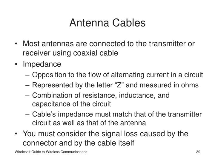 Antenna Cables