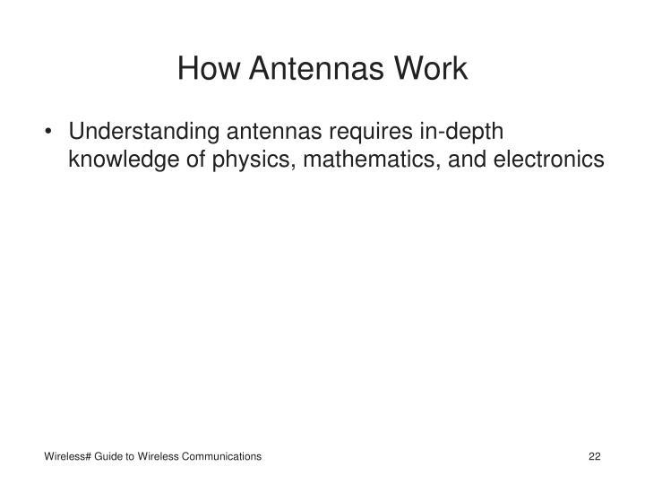How Antennas Work