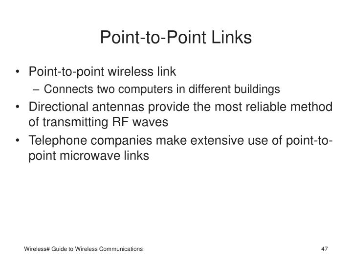 Point-to-Point Links