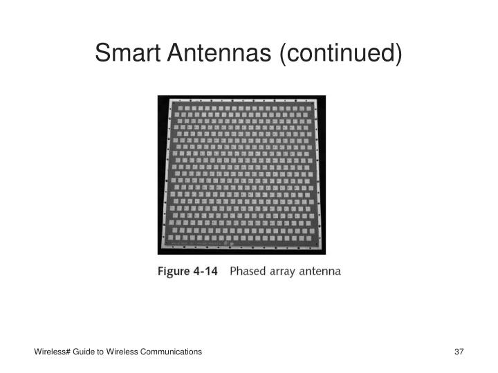 Smart Antennas (continued)