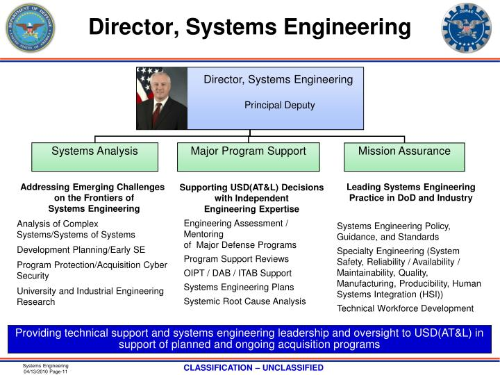 Director, Systems Engineering