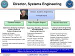 director systems engineering